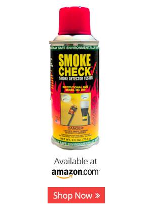 Figure 3 - Smoke check smoke detector testing aerosol.