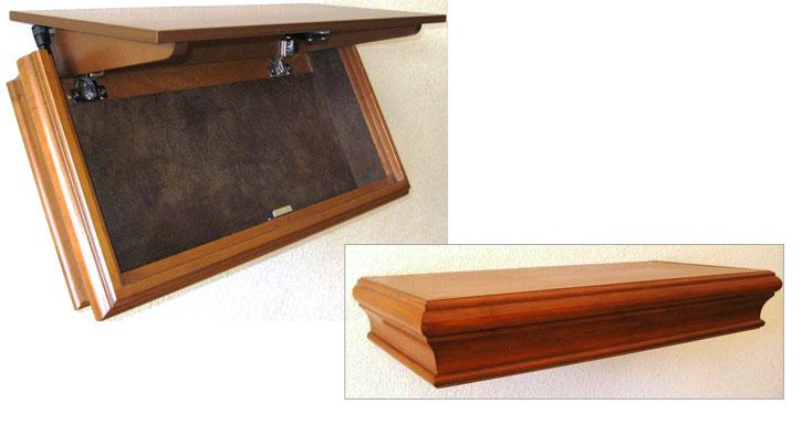 Gun Concealment FurnitureRough Country Rustic Furniture  : SHELF from algarveglobal.com size 725 x 385 jpeg 42kB