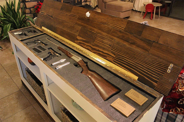 Secret Compartments And Gun Concealment Furniture